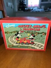 New listing Mickey Mouse hand car wind up toy