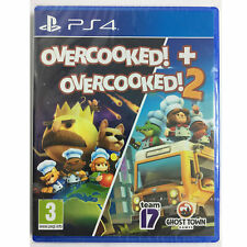 Overcooked + Overcooked! 2 PS4 PLAYSTATION Double Pack New and Sealed