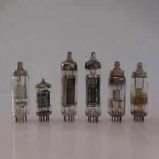 6 LAMPES TUBES RSD THOMSON-CSF MAZDA
