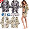 Women's Vintage Floral Loose Shawl Kimono Cardigan Boho Chiffon Tops Jacket Coat