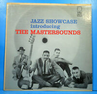 THE MASTERSOUNDS JAZZ SHOWCASE LP 1957 MONK MONTGOMERY GREAT CONDITION VG+/VG+!!