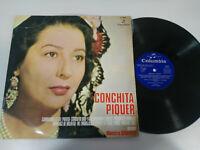 "Conchita Piquer exitos Flamenco Columbia 1970 LP vinyl 12 "" G VG"