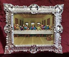 Jesus Christus zwölf Aposteln 12 Apostel das letzte Abendmahl Jesu 45x38 Silber