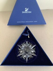 Swarovski Annual Edition 2002 Christmas Xmas Ornament