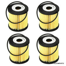 VOLVO C70 S40 S60 S70 S80 XC90 Oil Filter Kit BOSCH OEM 72206WS SET OF 4 NEW