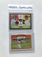 Tim Anderson Topps Heritage Lot (2) 2020 Insert TN-10 & 2021 In Action White Sox