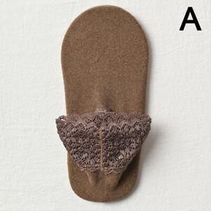 Women Autumn Winter Warm Socks Cotton Lace Low Cut Short Ankle Floor Socks CA
