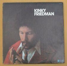 KINKY FRIEDMAN ~ Self Titled LP ~ SIGNED
