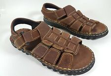 New Earth brown leather sandals uk 3 eu 36