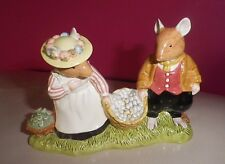 ROYAL DOULTON BRAMBLY HEDGE FIGURE - OFF TO PICK MUSHROOMS DBH 66 - PERFECT !!