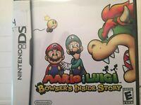 Mario & Luigi: Bowser's Inside Story (Nintendo DS, 2009) CIB