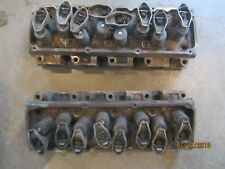 1973 FORD 351 CLEVELAND 4V OPEN CHAMBER CYLINDER HEADS PAIR