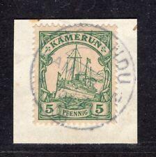 Kamerun Mi 8  Briefstück  Molundu  15.7.08