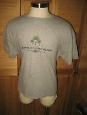 St Croix US Virgin Islands Gray  50/50 T Shirt XL Mint