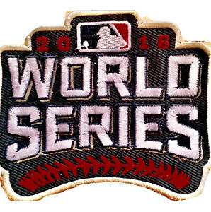 *NEW* Official Chicago Cubs 2016 World Series Patch vs Cleveland Indians Sewn On