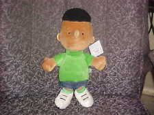 "14"" Peanuts Franklin Plush Boy Doll Mint With Tags"