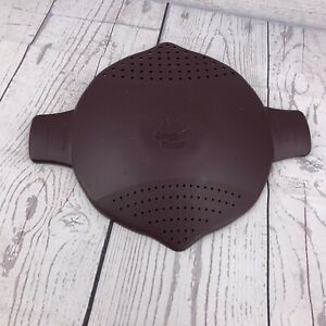 Replacement Lid ONLY Pampered Chef 2 qt. Large Microwave Steamer Pot Strainer