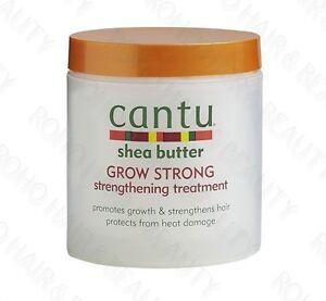 Cantu Shea Butter Grow Strong Strengthening Treatment 6 Oz. / 173g