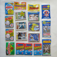 LOT of 239 Sealed Baseball Cards from 1989 - w/ Bowman Fleer Donruss Score Topps