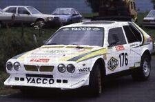 Decal 1:43 Lancia Delta S4 Gerard Paquet Hill Climb 1988