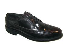 Vtg Mens Florsheim Long Wingtip Oxford Dress Shoes Sz 12 D Burgundy