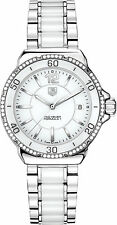 Tag Heuer Formula 1 Wah1213.ba0861 Ladies Diamonds 35mm Chronograph Date Watch