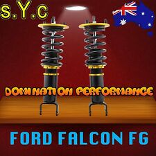 Ford Falcon FG Front Coilover Kit - SYC Fully Adjustable Front Coilovers