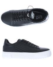 Scarpe Sneaker Emporio Armani Ea7 Pelle Uomo Nero X8X003XK003 2