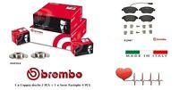 Brembo Dischi + Pastiglie Freno Anteriori Fiat Bravo Lancia Delta 1.6 Multijet