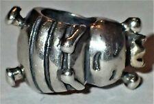 925 Silver Bee Bead ADD TO EUROPEAN STYLE & PANDORA BRACELETS 2.19 Grams