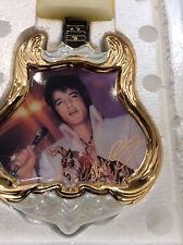 Elvis Presley Entertainer of the Century GUITAR 1974 The Superstar PLATE