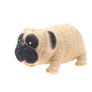 Creative Lala Pug Decompression Toys Pinch Le Pai Dog Sand Elastic Stretch TBDA