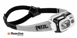 Lampe Frontale Petzl Swift Noir Camping Pêche Urgence Running 900 Lm