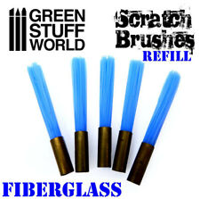 Scratch Brush Refill Fiberglass - rolling pin cleaning weathering chipping