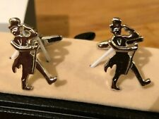 'Top hat and coat tails' Cufflink Pair in Box