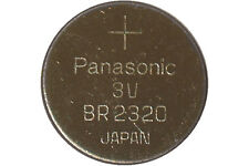 100-Pack CR2320 Panasonic 3 Volt Lithium Coin Cell Batteries