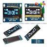 """IIC I2C SPI 0.91"""" 128x32 White/Blue OLED LCD Display Module For Arduino PIC"""
