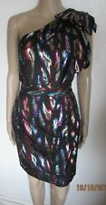 NWT STUNNING ONE SHOULDER SHIMMER DRESS SIZE 10 NEXT RP 45.00 CHRISTMAS/NEW YEAR