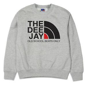 The Dee Jay Sweatshirt - Old school beats Hip Hop vinyl DJ Rap sweater