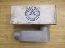 """Appleton LB200-M LB200M Conduit Body Unilet 2"""" Mall Iron"""