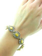 Silver Woman Bracelets Swarovski Opal Turkish Handmade Victorian Style Jewelry