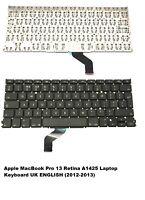 Apple MacBook Pro 13 Retina A1425 Laptop-Tastatur UK Englisch 2012- 2013 NEU