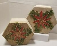 SET OF 2 CHRISTMAS STACKING NESTING BOXES GIFTS OR STORAGE