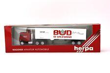 Herpa Wagener US Truck  Sattelzug bud of california CO-Operative 1:87 H0 OVP NOS