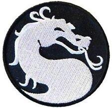 DRAGON Quality Embroidered Mortal Kombat Gamer Quality Biker Vest Patch PAT-0563