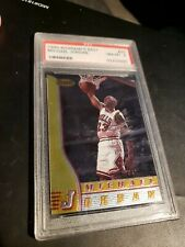 1996-97 Bowman's Best Michael Jordan #80 PSA 8 NM-MT Bulls HOF