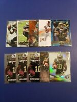 Brandin Cooks 10 Card Lot Rookie / Refractor - New Orleans Saints