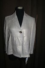 NEW WITH TAGS~ MICHAEL KORS~ GOLD METALLIC  LINEN JACKET SIZE 6~$189