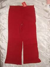 NWT GYMBOREE ~ HOLIDAY PANDA red knit pull-on pants ~ girls 4 4T