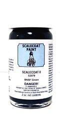 Scalecoat II S2079 BNSF Burlington Northern Santa Fe Green 2 oz Enamel Paint